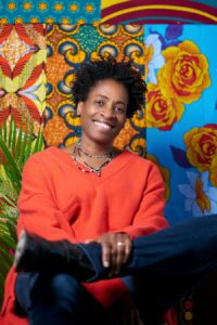 Jacqueline Woodson is the author of Brown Girl Dreaming, credit Tiffany Bloomfield