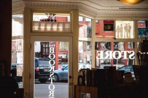 Closed bookstore