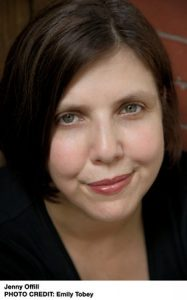 Jenny Offill is the author of Weather, credit Emily Tobey
