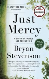 One of our recommended books is Just Mercy by Bryan Stevenson