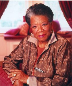 Maya Angelou is the author of Letter to My Daughter, credit Dwight Carter