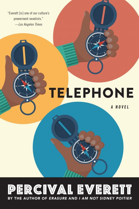 One of our recommended books is Telephone by Percival Everett
