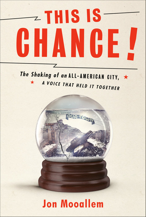 One of our recommended books is This Is Chance by Jon Mooallem