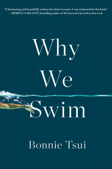 One of our recommended books is Why We Swim by Bonnie Tsui