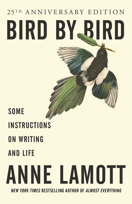 One of our recommended books is Bird by Bird by Anne LaMott