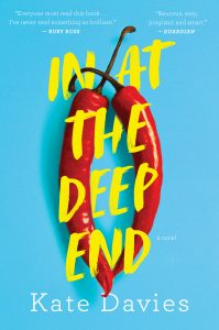One of our recommended books is In at the Deep End by Kate Davies