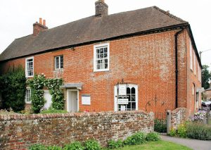 Jane Austen's House, Chawton Seen from the south.