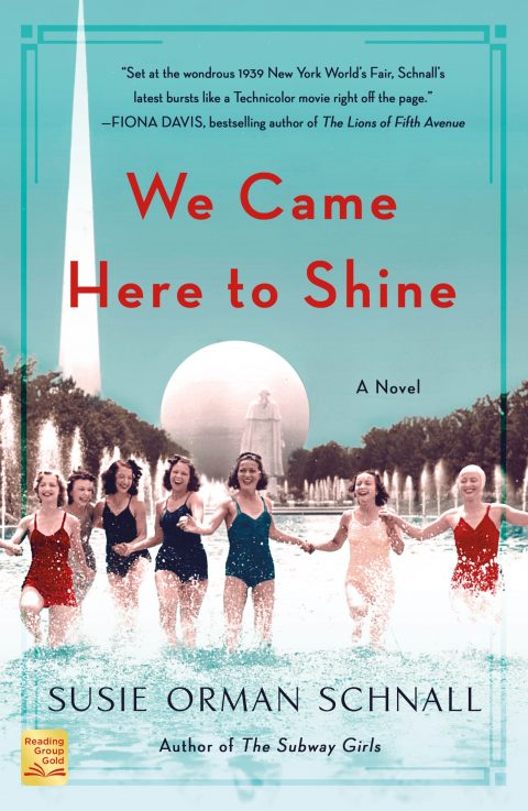 One of our recommended books is We Came Here to Shine by Susie Orman Schnall