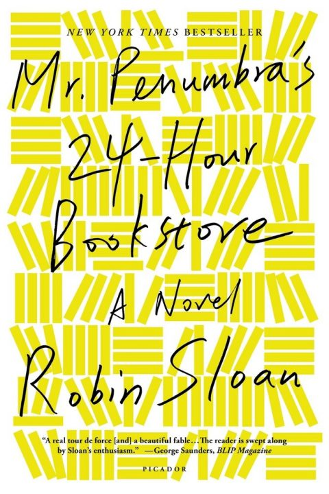 One of our recommended books is Mr. Penumbra's 24-Hour Bookstore by Robin Sloan
