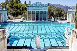 Hearst Castle Neptune Pool, credit Catalina Johnson