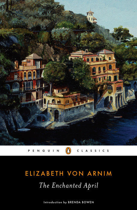 One of our recommended books is The Enchanted April by Elizabeth Von Arnim