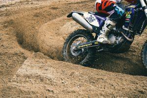 Dirt bike, photo by Niklas Garnholz
