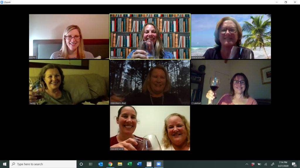 Virtual Beach Book Club