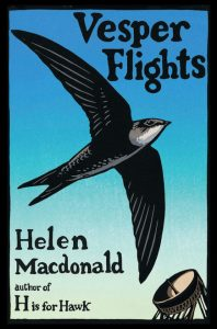 One of our recommended books is Vesper Flights by Helen MacDonald