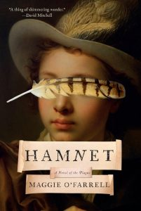 One of our recommended books is Hamnet by Maggie O'Farrell