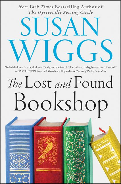 One of our recommended books is The Lost and Found Bookshop by Susan Wiggs.