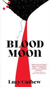 One of our recommended books is Blood Moon by Lucy Cuthew