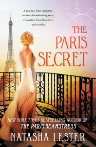 One of our recommended books is The Paris Secret by Natasha Lester
