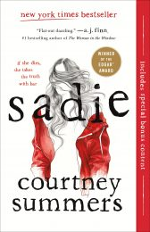 One of our recommended books is Sadie by Courtney Summers