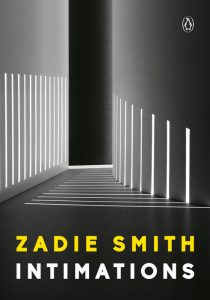 One of our recommended books is Intimations by Zadie Smith