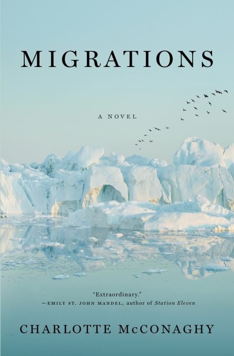 One of our recommended books is Migrations by Charlotte McConaghy