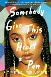One of our recommended books is Somebody Give This Heart a Pen by Sophia Thakur