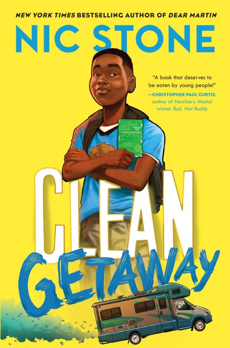One of our recommended books is Clean Getaway by Nic Stone