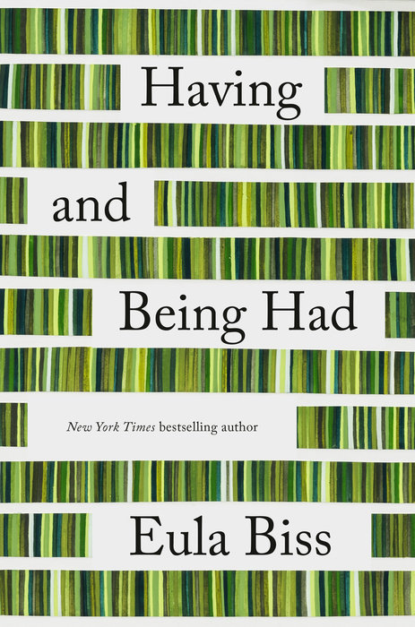 One of our recommended books is Having and Being Had by Eula Biss