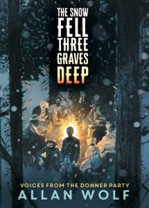 One of our recommended books is The Snow Fell Three Graves Deep by Allan Wolf