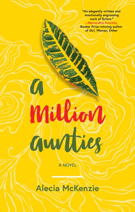 One of our recommended books is A Million Aunties by Alecia McKenzie