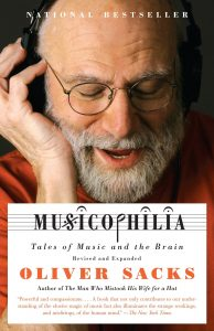 One of our recommended boks is Musicophilia by Oliver Sacks