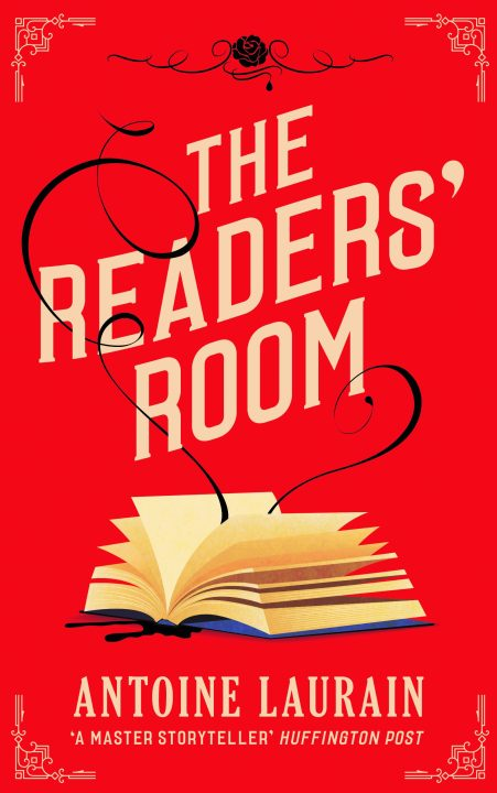 One of our recommended books is The Readers' Room by Antoine Laurain