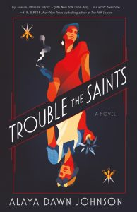 One of our recommended books is Trouble the Saints by Alaya Dawn Johnson