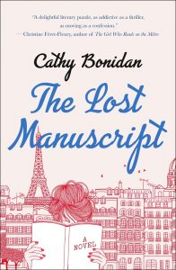 One of our recommended books is The Lost Manuscript by Cathy Bonidan