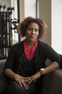 Salamishah Tillet is the author of In Search of the Color Purple, credit Nick Romanenko Rutgers-University