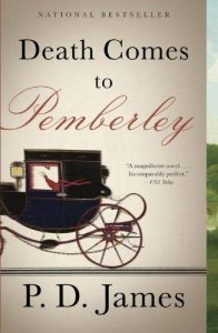 One of our recommended books is Death Comes to Pemberley by P.D. James