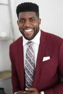 Emmanuel Acho is the author of Uncomfortable Conversations with a Black Man