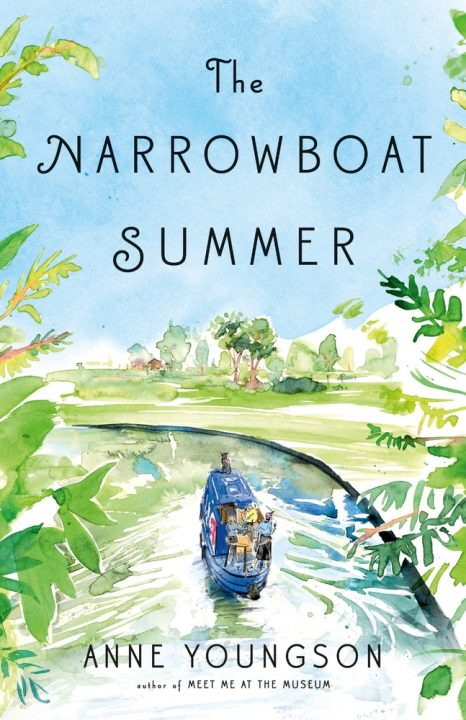 One of our recommended books is The Narrowboat Summer by Anne Youngson
