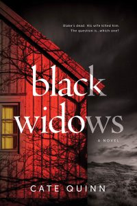 One of our recommended books is Black Widows by Cate Quinn