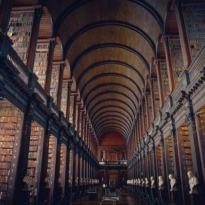 Trinity College, Dublin. Photo by j zamora on Unsplash