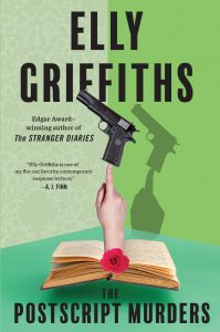 One of our recommended books is The Postscript Murders by Elly Griffiths