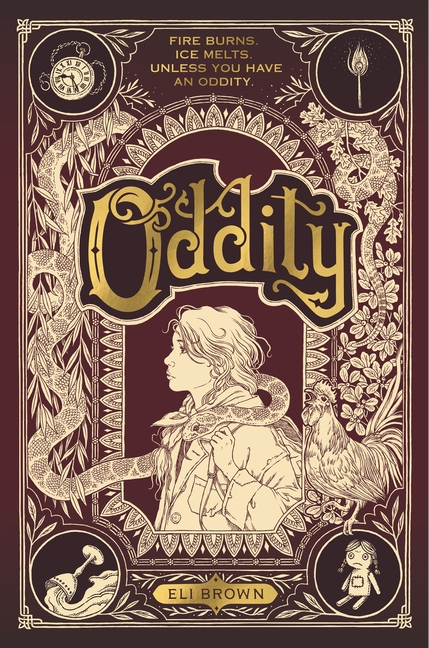 One of our recommended books is Oddity by Eli Brown