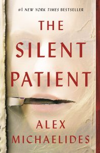 One of our recommended books is The Silent Patient by Alex Michaelides