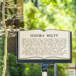 Eudora Welty Mississippi Writers Trail