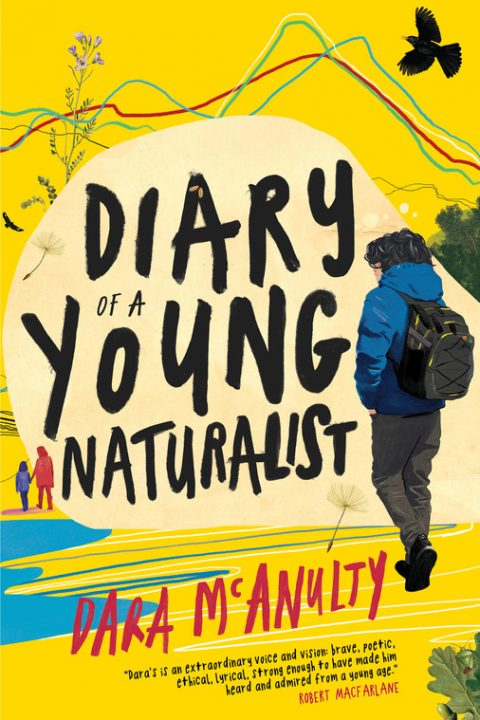 One of our recommended books this month is Diary of a Young Naturalist by Dara McAnulty