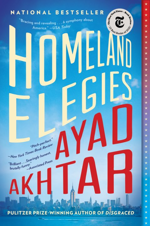One of our recommended books is Homeland Elegies by Ayad Akhtar