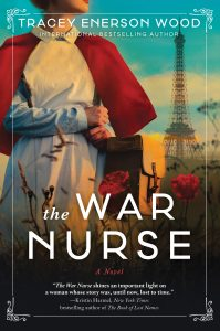 One of our recommended books is The War Nurse by Tracey Enerson Wood