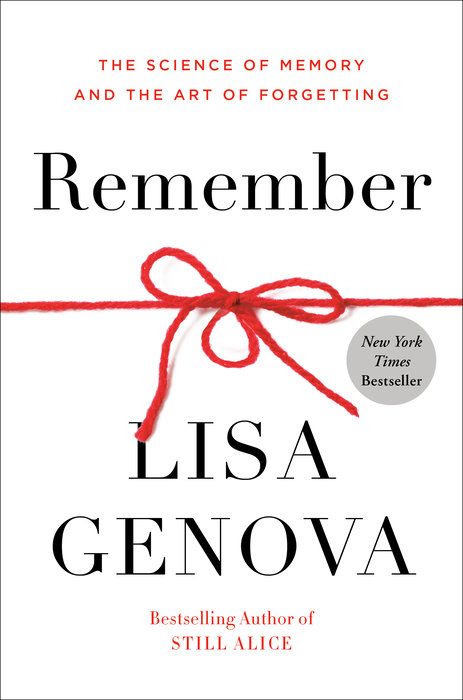 One of our recommended books is Remember by Lisa Genova