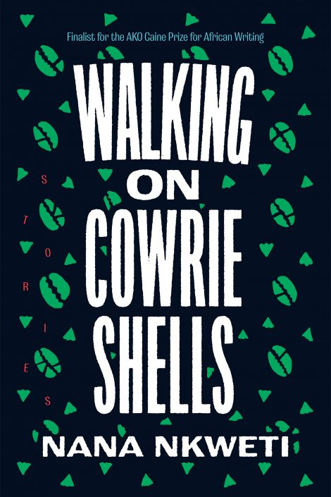 One of our recommended books is Walking on Cowrie Shells by Nana Nkweti