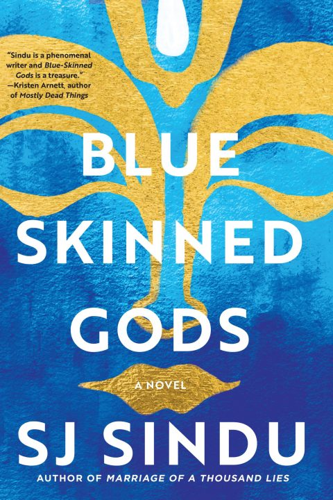 One of our recommended books is Blue-Skinned Gods by SJ Sindu